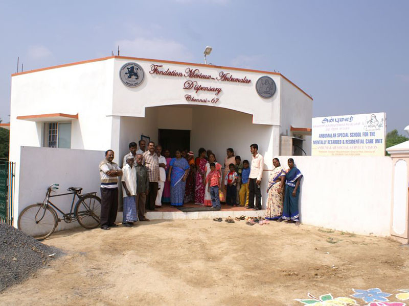 The clinic carries out some 30 consultations a day